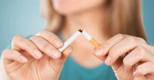 dohányzásról leszokás